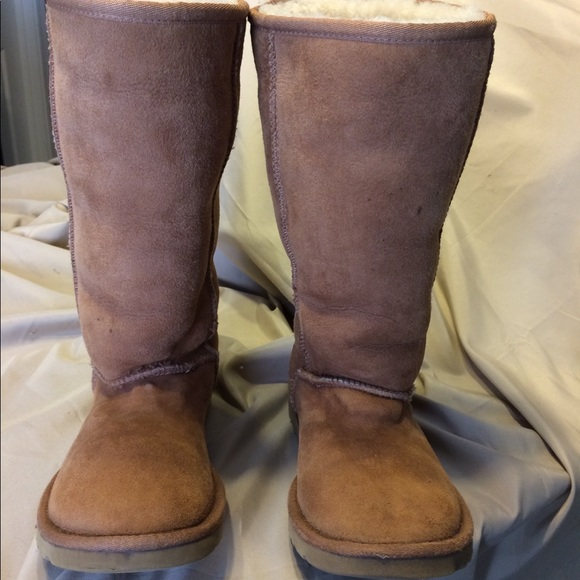 Ugg Classic Tall Boots Chestnut Color